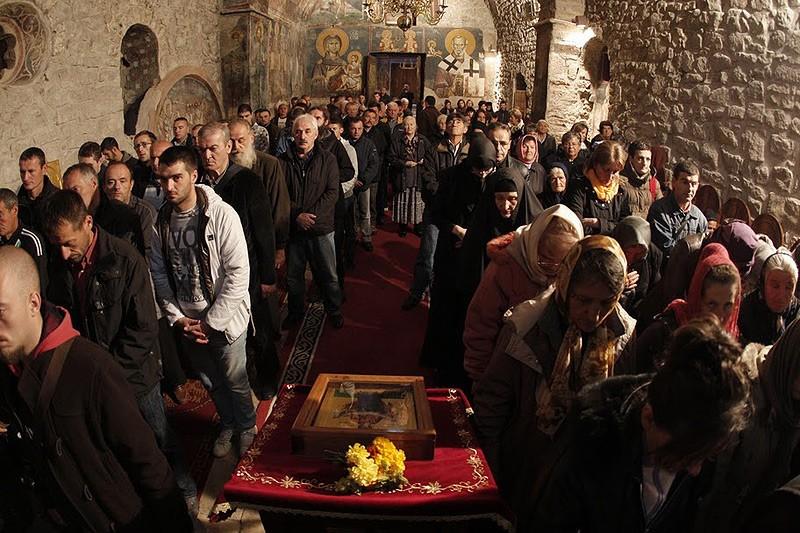 Праздник собрал несколько сот верующих