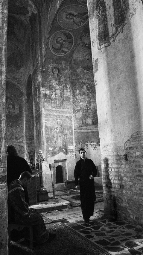 В монастыре преподобного Михаила Клопского