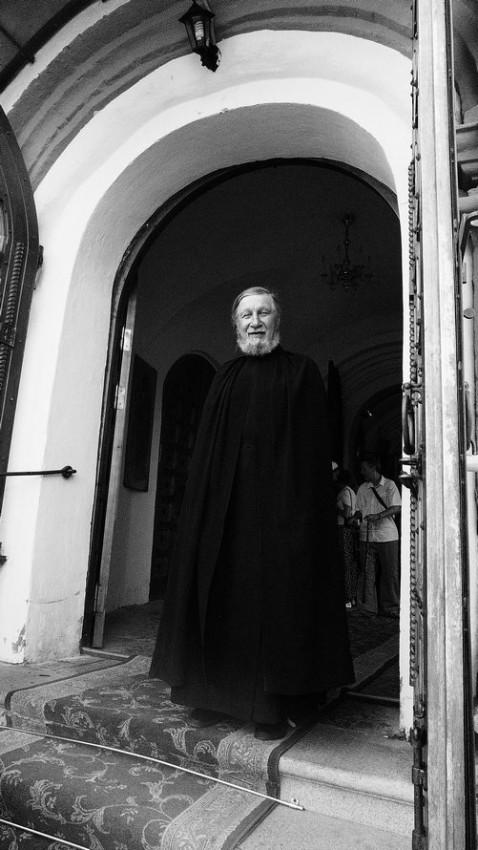 Монах Иверского монастыря