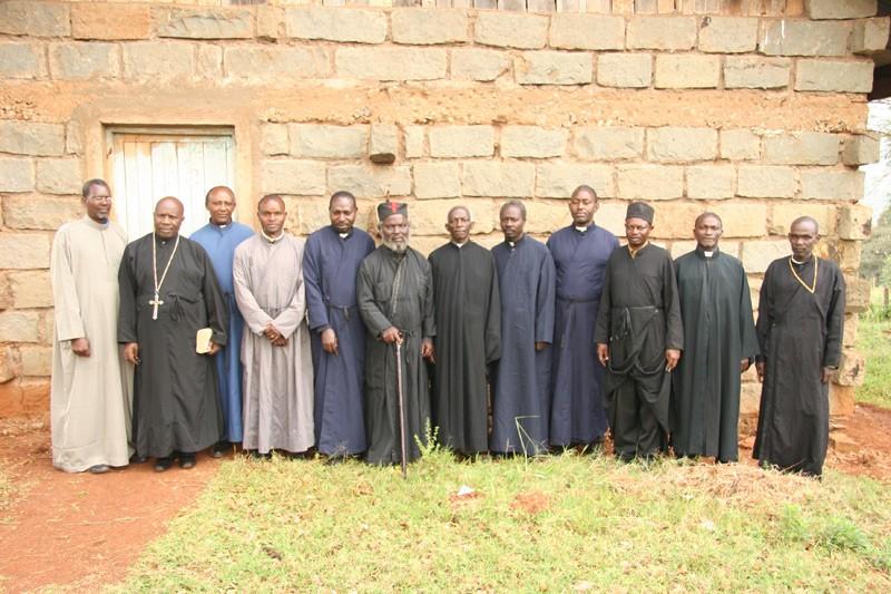 Духовенство округа Ниери