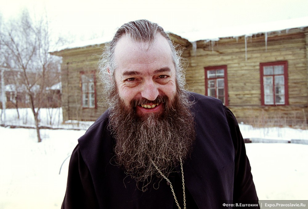 Fr. Vasily (Pasque). (A French priest-monk who serves in Russia)