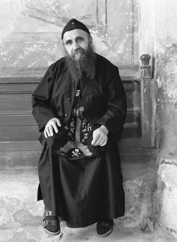 Духовник сербского монастыря Хиландар, иеросхимонах Кирилл