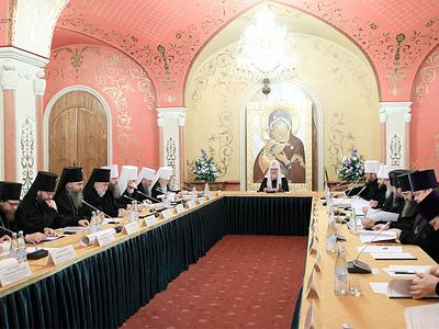 Archbishop Mark and Protopriest Alexander Lebedeff Participate in the Fourth Meeting of the Inter-Council Presence of the Russian Orthodox Church
