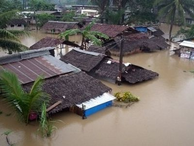 Orthodox society begins fundraising for flood victims in the Philippines