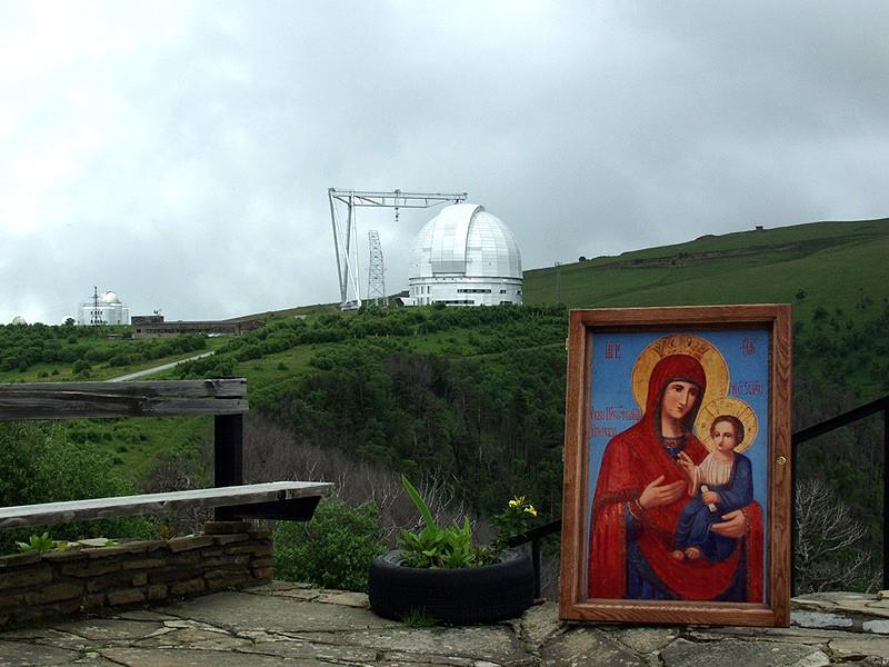 Иверская икона Божией Матери из Петропавловского храма станицы Зеленчукской