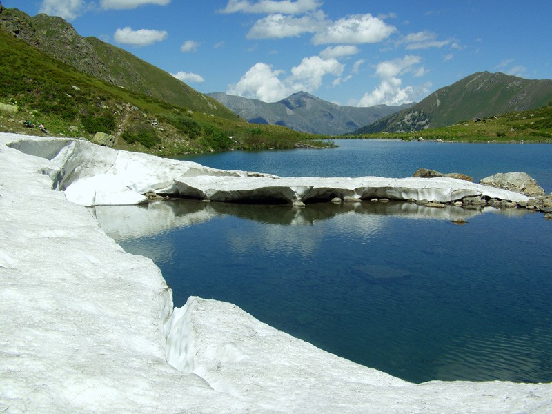 КЧР. Софийский хребет, озеро Ойматлы-Джогамы