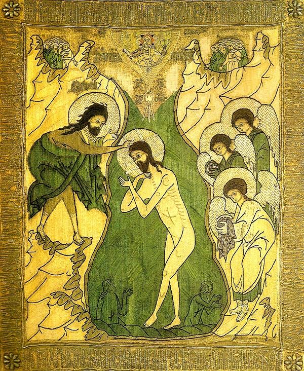 Шитая пелена, 1580-е, Государственный Русский Музей