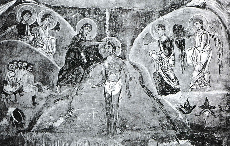 Fresco in the Church of the Savior on the Neredits, 1198, Novgorod (lost).