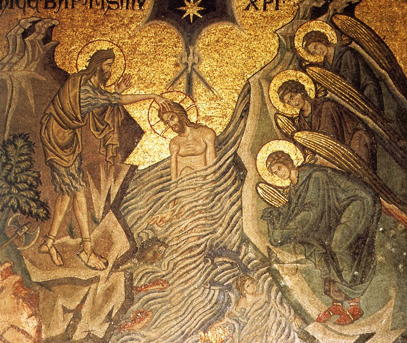 Mosaic in the Cathedral of San Marco, 13th c., Venice.
