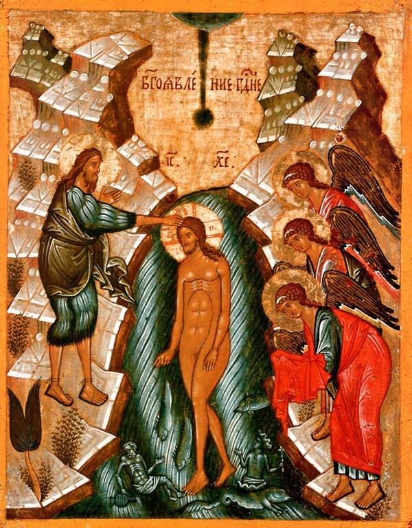 Двустороняя икона-таблетка, конец XV-начало XVI века, Новгородский музей