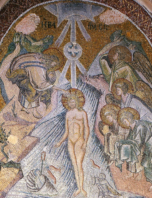 Mosaic in the catholicon of the Chora Monastery. 1316–1321, Istanbul.