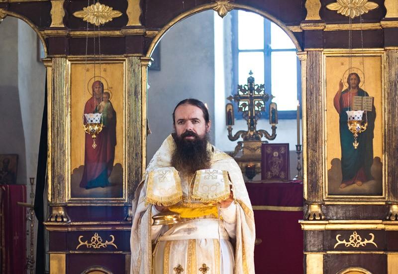 Божественная литургия, монастырь Враньина
