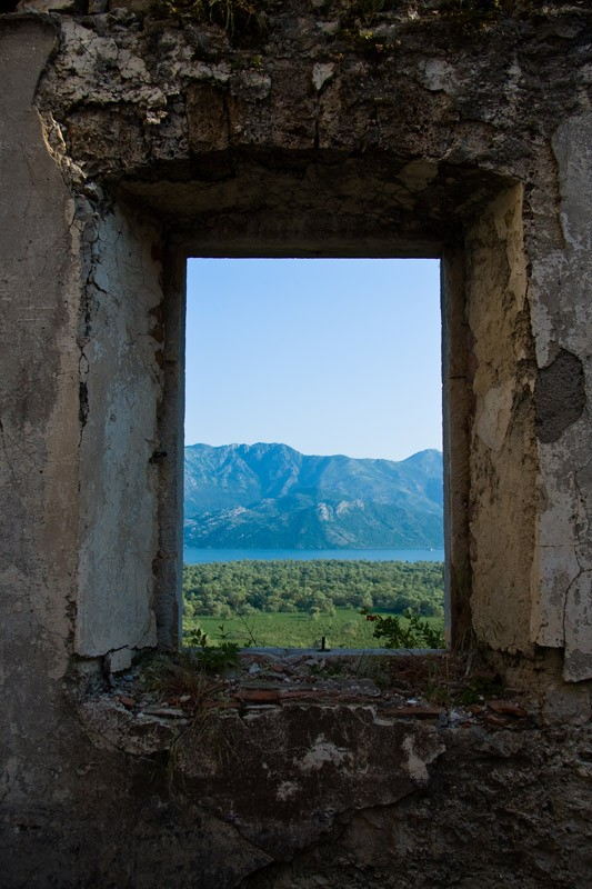 Враньина. Старый монастырский корпус.