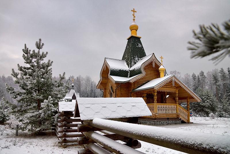 Церковь св.муч. Людмилы и прп.муч. Евгении