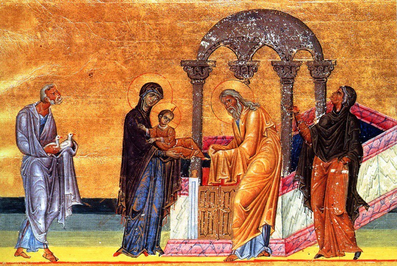 Miniature from the Menalogion of Basil II, first quarter of 11th c., Vatican Library (Vat. Gr. 1613)