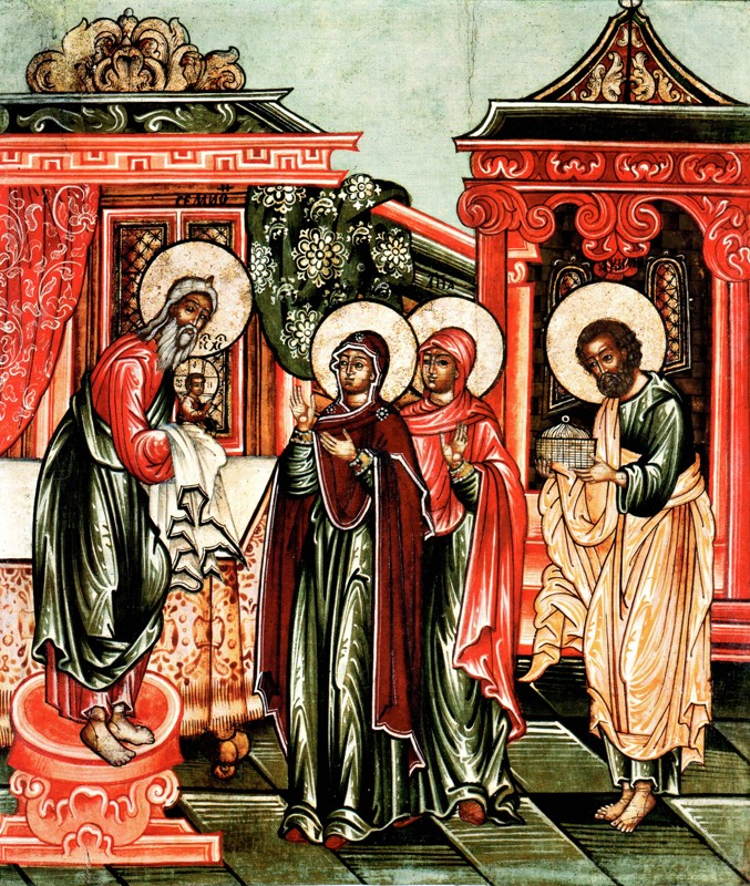 Икона середины XVIII в., Угличский историко-архит музей-заповедник