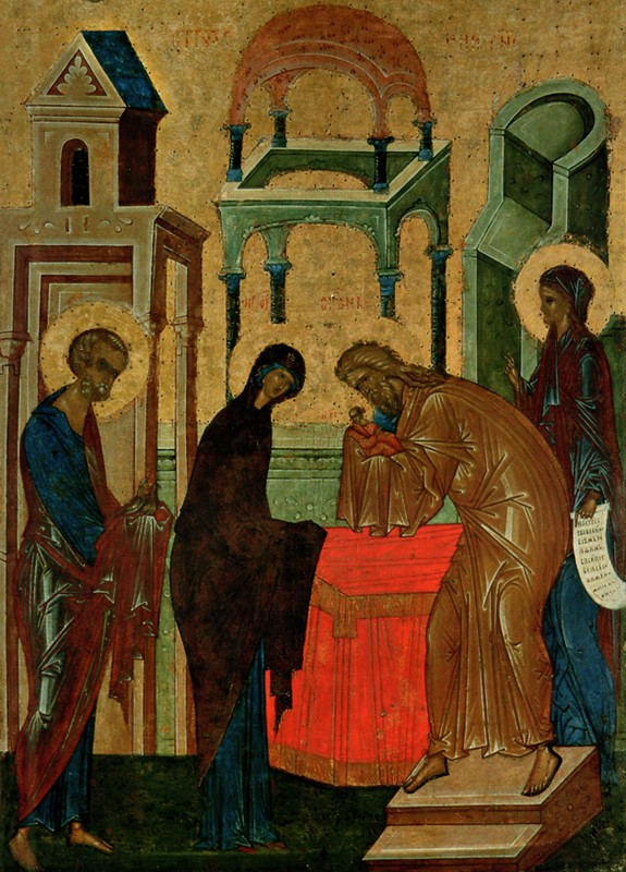 Cir. 1497, from the iconostasis of the Dormition Cathedral, St. Cyril of White Lake Monastery, Kirillo-Belozersk Museum-reserve.