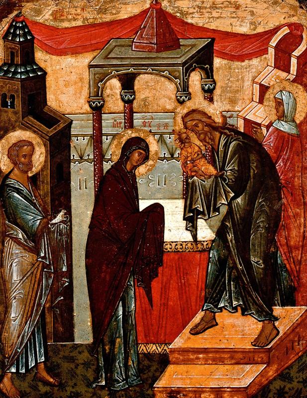 Двусторонняя икона-таблетка конца XV-начала XVI века, Новгородский музей-заповедник