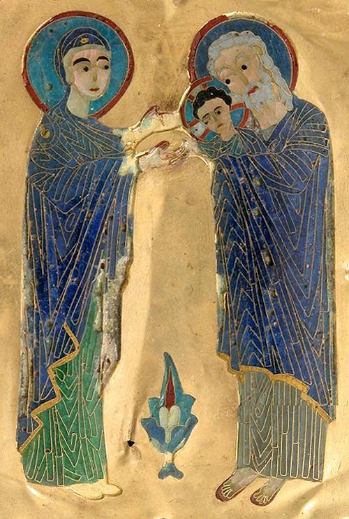 Византийский стиль, конец XIX- начало XX века. Хранится в музее Метрополитен, Нью-Йорк