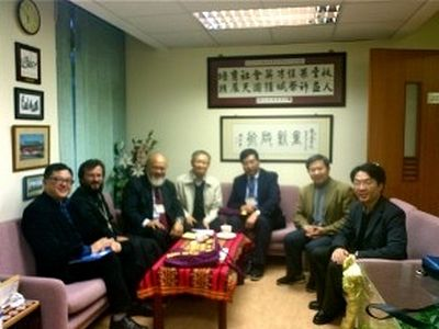 Archimandrite Kirill (Govorun) negotiates for cooperation with Chinese University of Hong Kong