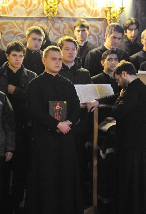 Хор студентов Екатеринодарской Духовной Семинарии