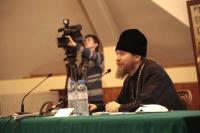 Встреча студентов и преподавателей ПСТГУ с архимандритом Тихоном (Шевкуновым)