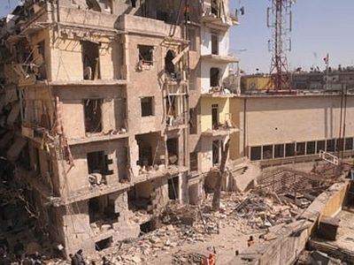 Bombings kill 30 in Syria as Christian districts targeted