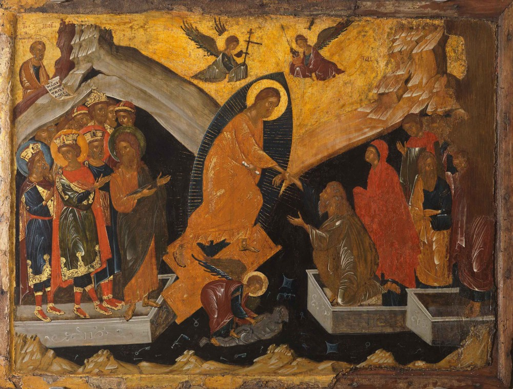 Christ's descent into hell.