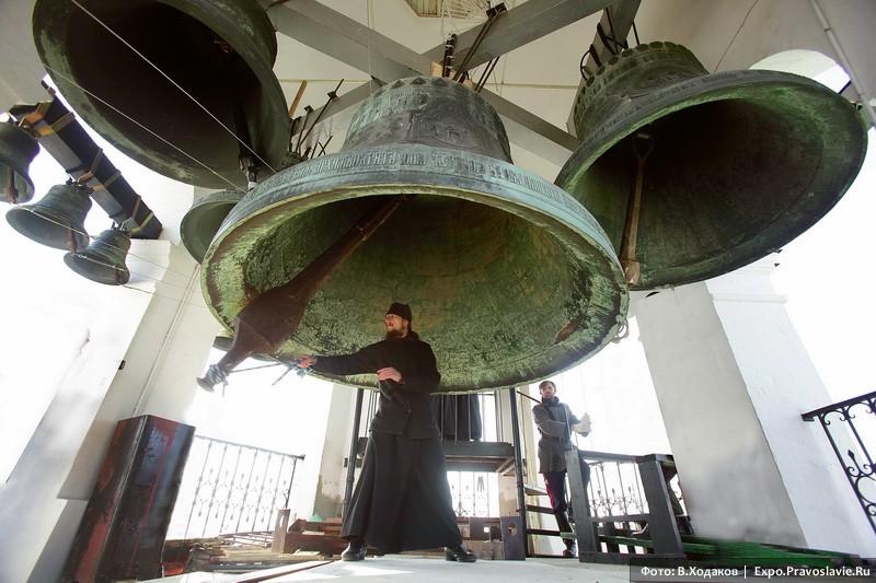 Возвращение из Гарварда Даниловских колоколов в Россию