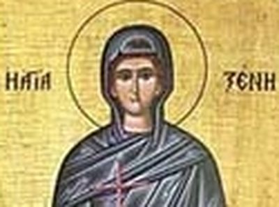 Great Martyr Xenia the Wonderworker, of the Peloponnesus