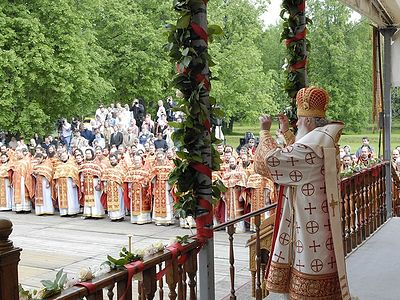 His Holiness Patriarch Kirill Celebrates Divine Liturgy at Butovo Compound