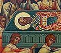 Всенощное бдение в Сретенском монастыре накануне дня памяти святителя Николая, архиепископа Мирликийского