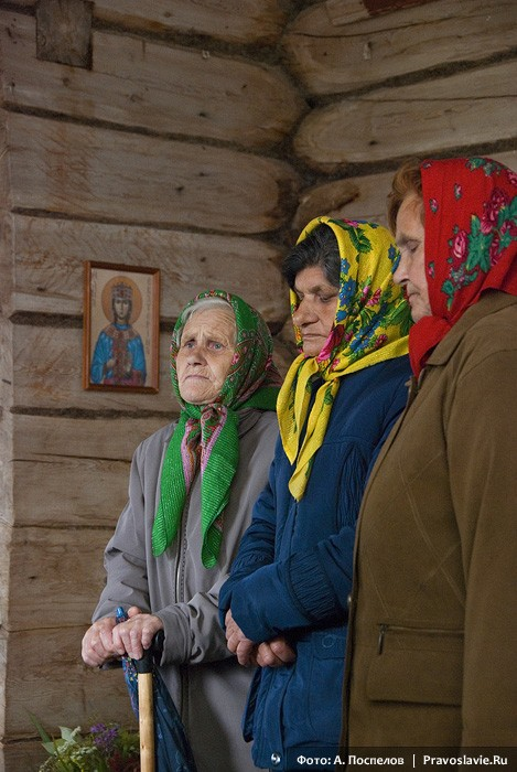 Молебен в храме св. вмц. Екатерины