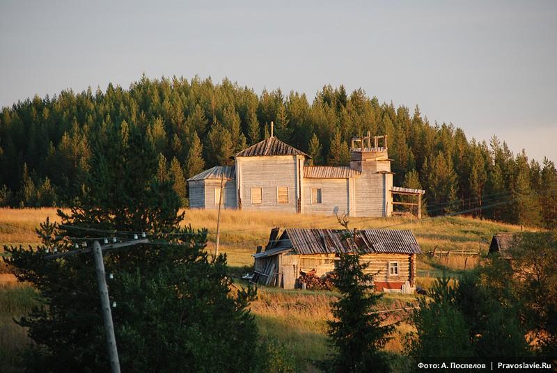 Храм св. вмц. Екатерины после консервации