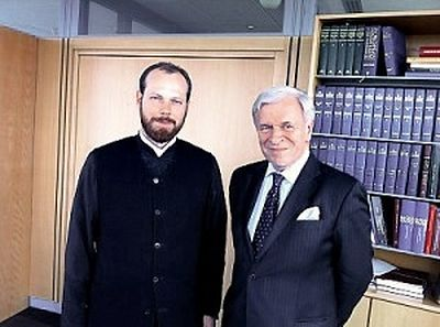 Moscow Patriarchate representative to Council of Europe meets with president of European Court of Human Rights