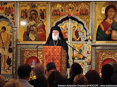 Metropolitan Kallistos (Ware) Lectures on the Jesus Prayer at St John the Baptist Cathedral in the Nation's Capital