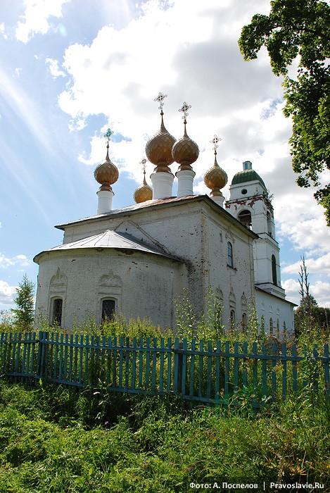 Храм в Павловом селе