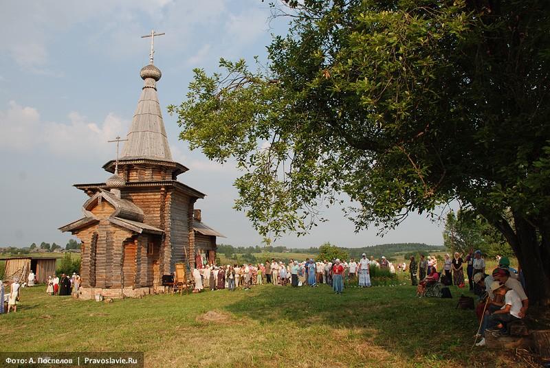 Ильинский храм в Ивановском-на-Лехте