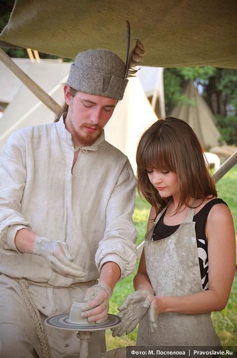Обучение гончарному мастерству