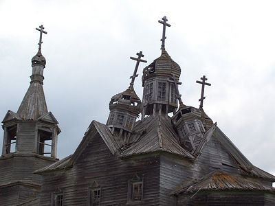Nearly half the churches of northern Russia may disappear in the near future