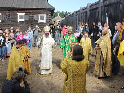 St. Vladimir's Day Celebration in Fort Ross