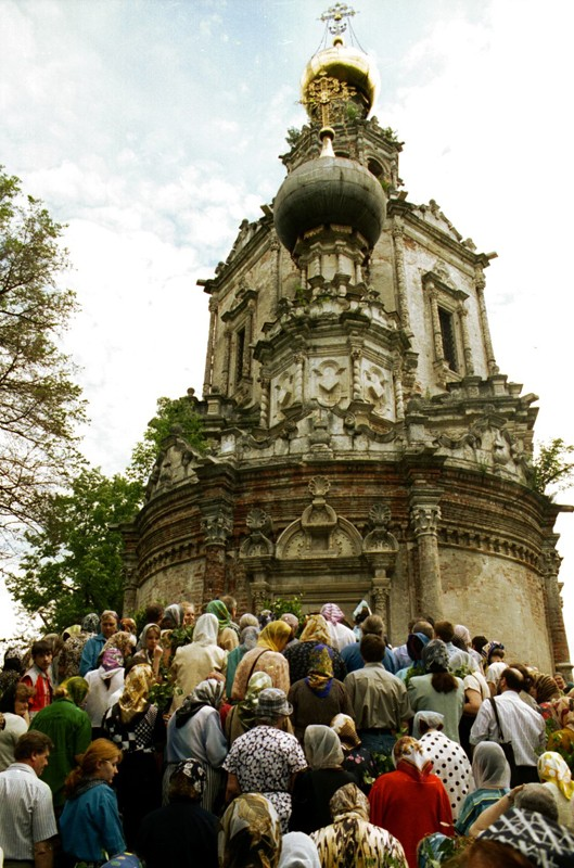 Троицкий храм в Троице-Лыково