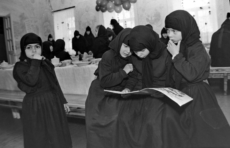 Детский приют при Николаевском Черноостровском монастыре