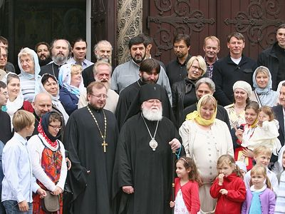 Priest for German Orthodox community ordained in Hamburg