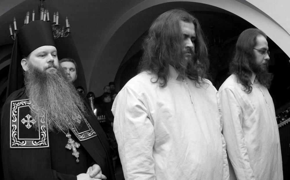 Постриг. Яблочинский Свято-Онуфриевский монастырь