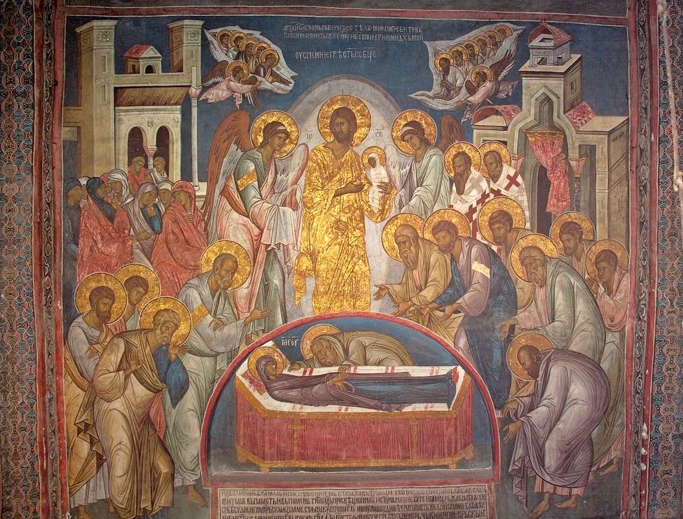 Успение Пресвятой Богородицы. Сербия. Дечаны, XIV век