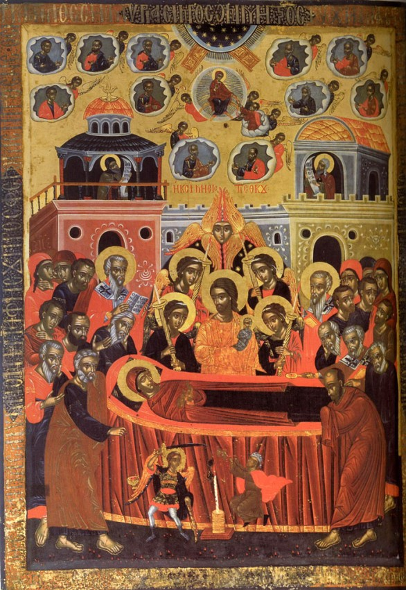 Успение Пресвятой Богородицы. Афон, монастырь Пантократор. XVII век