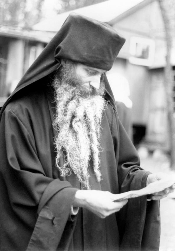 О. Серафим (Роуз) в монастыре Прп. Германа Аляскинского