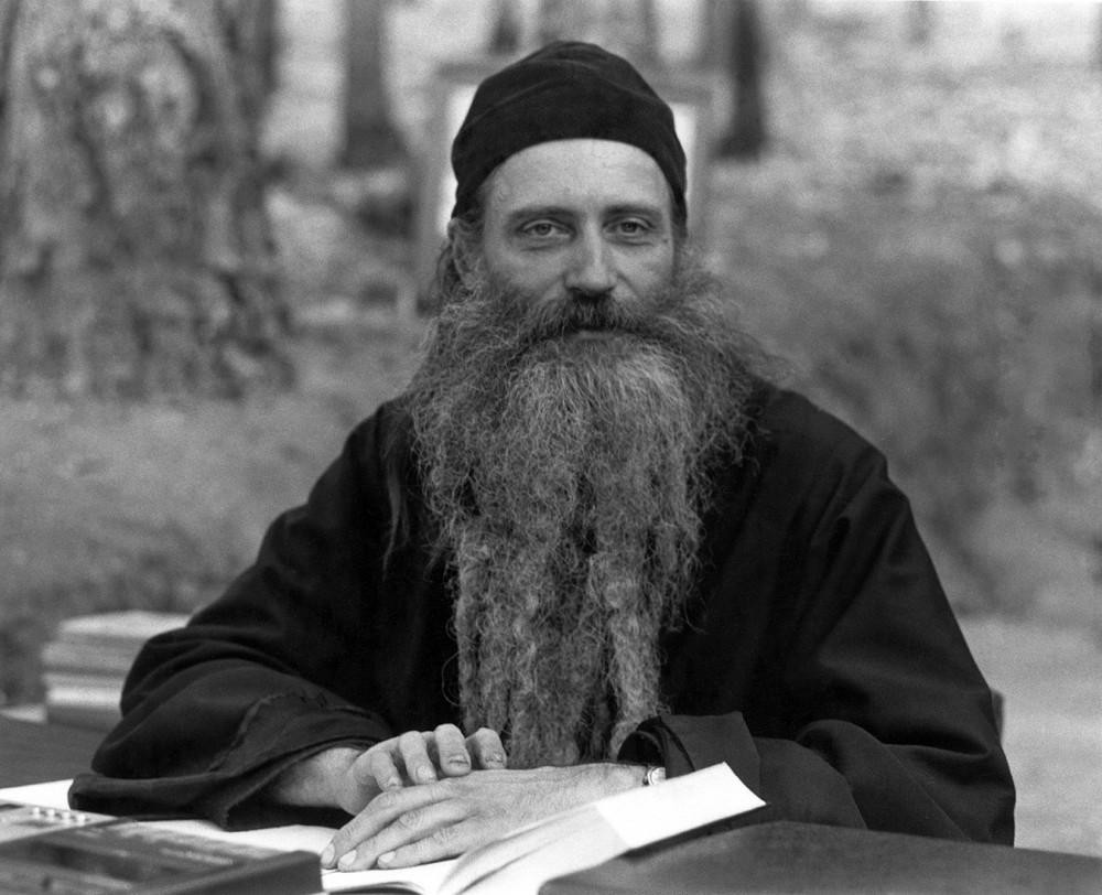О. Серафим (Роуз) во время курса Ново-Валаамской богословской академии. 1980 г.