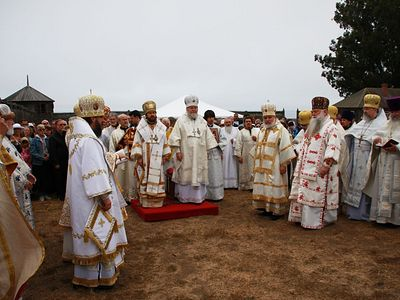 Metropolitan Hilarion and Metropolitan Ilarion Lead Anniversary Celebrations at Fort Ross, CA